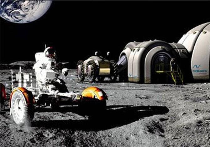 Planos de la NASA para casas en la Luna se diseñan en Brasil