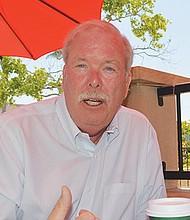 Mark Watton, gerente general de Otay Water District, durante la entrevista.