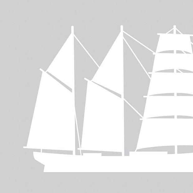 Bergantín-goleta: Dos o más palos. Con el trinquete aparejado con velas cuadras y los demás con cangrejas