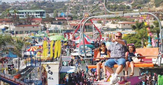 Skyride sobre los terrenos en la feria de San Diego County Fair en Del Mar, donde todo el parque es visible./Foto cortesìa: Elfego Becerra de Reventa2.
