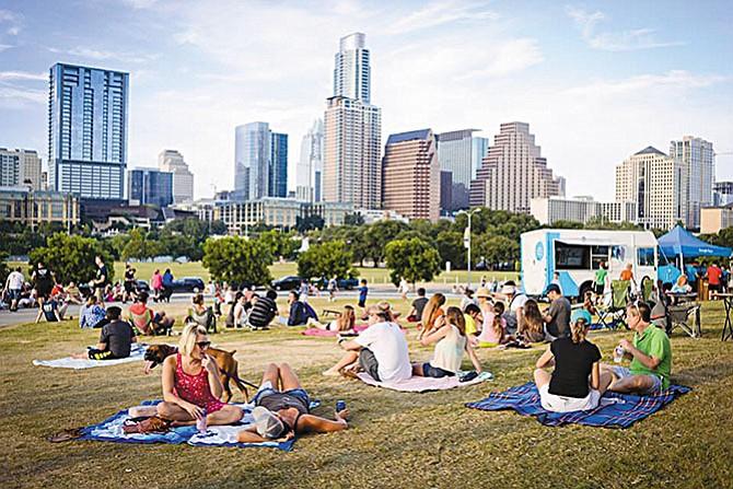 ¡A disfrutar en la 'terraza' de Austin!