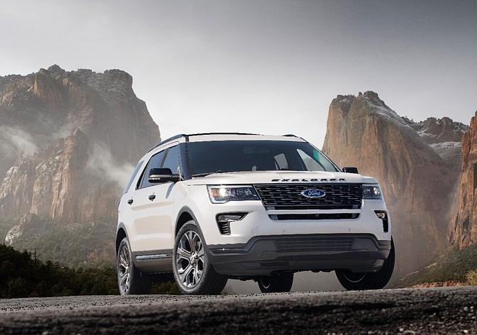 Ford dio a conocer el nuevo Explorer del 2018
