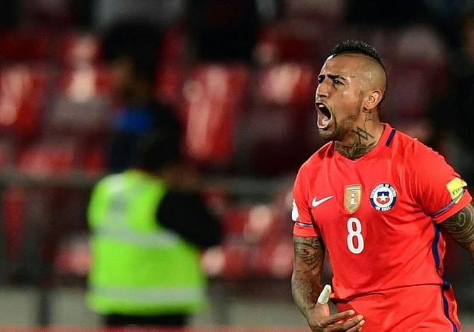 Arturo Vidal: era muy importante que Chile empezara con el pie derecho