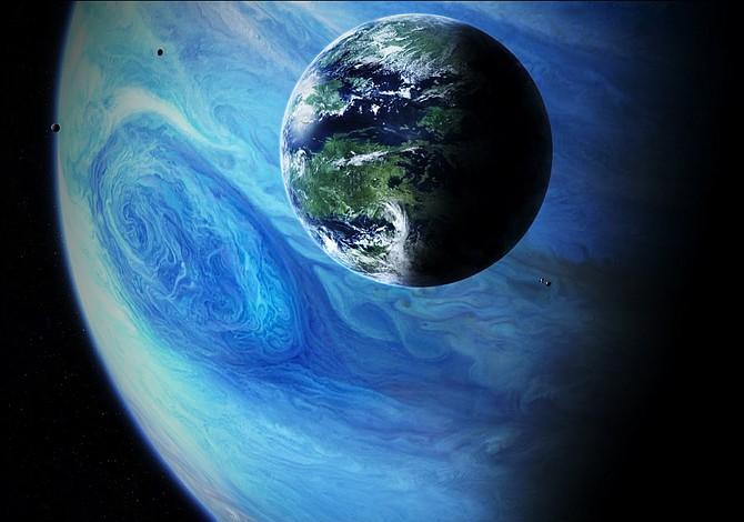 NASA descubrió 10 posibles planetas habitables