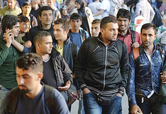 Admirable empuje de los refugiados
