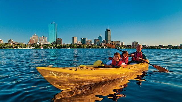 Boston ofrece muchas formas para divertirse cuando llega el calor a la ciudad.