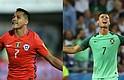 Alexis y Chile contra Cristiano Ronaldo y Portugal, la semifinal en Rusia
