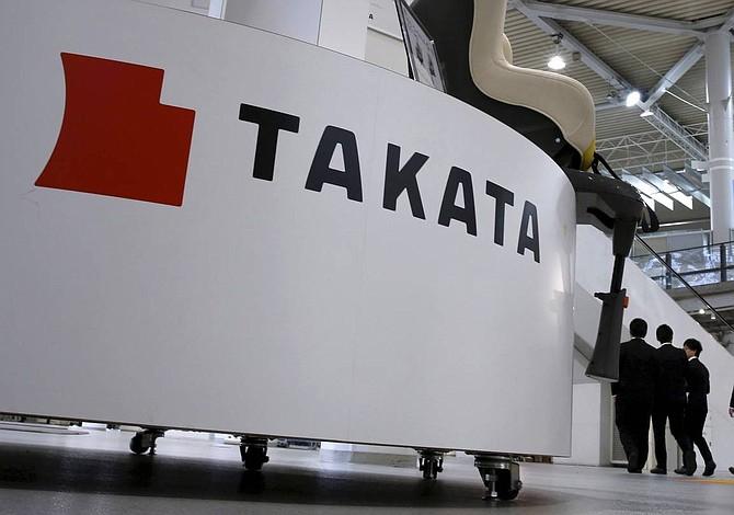 Airbags defectuosos llevaron al fabricante Takata a la bancarrota