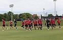 La selección nacional de fútbol entrena en Nashville, donde también jugará su primer partido el sábado 8 de julio.