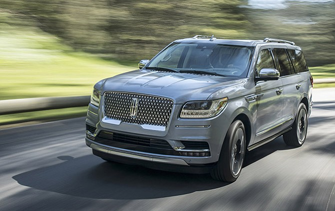 Lincoln presentó el nuevo y lujoso Navigator del 2018