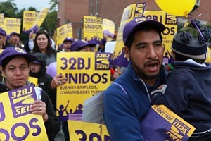 32BJ SEIU  urge a la movilizacion