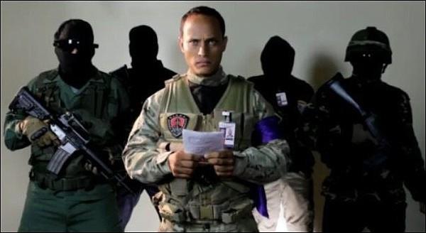 Oscar Pérez es señalado de ser el conductor del helicóptero que disparó contra la sede del Tribunal Supremo y el Ministerio del Interior y Justicia en Caracas, Venezuela.