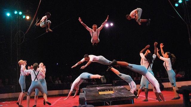 CIRCO. Los St. Louis Arches de Circus Harmony.
