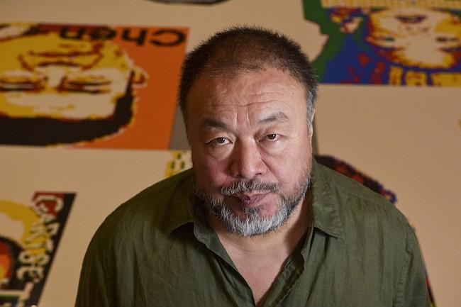 Ai Weiwei creando arte político en la era Trump: 'Se parte del cambio'
