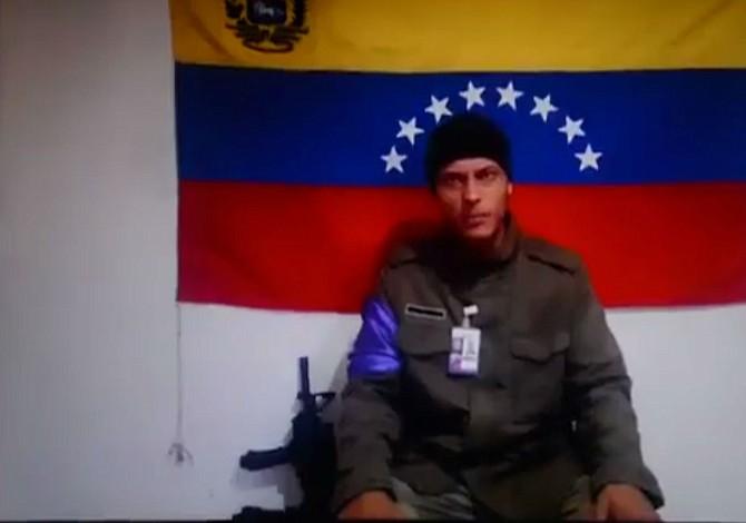 Óscar Pérez, el policía que atacó el TSJ, dice estar en Caracas