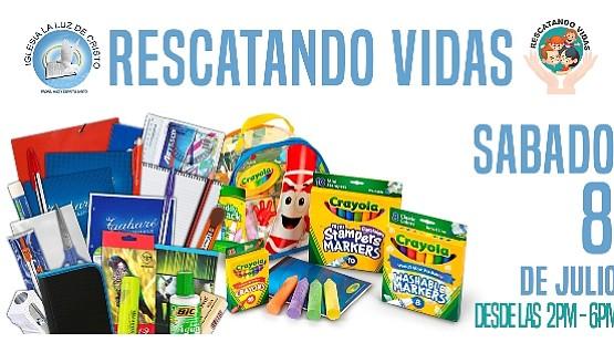 El sábado 8 de julio evento regalará útiles escolares, alimentos y ropa a niños latinos