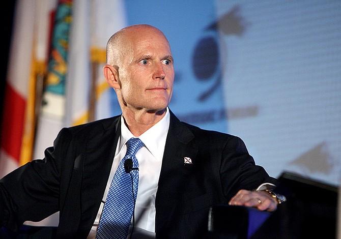 Impuestos y empleo, ejes del último año de Scott en la gobernación de Florida