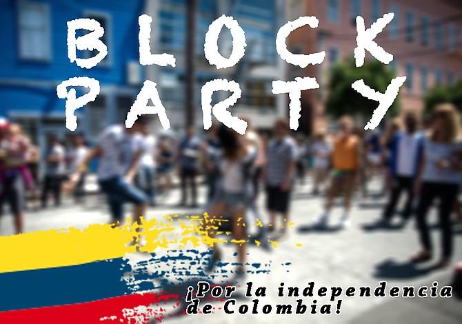 Fiesta comunitaria para celebrar la independencia de Colombia en East Boston
