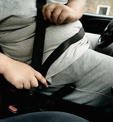 Porque los gordos tienen más accidentes automovilísticos que los flacos