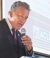 El Congresista Juan Vargas. Fotos de Manuel Ocaño