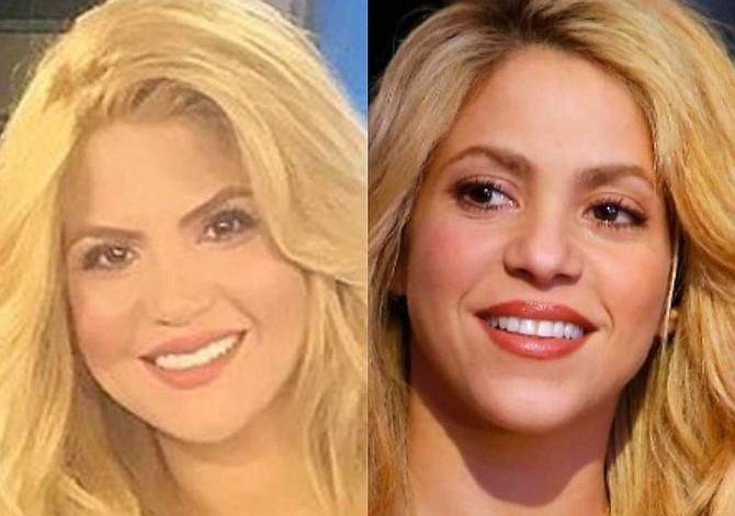 Shakira tiene una doble venezolana que sorprende