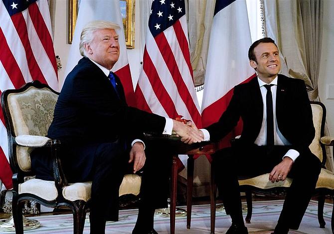 """Macron defiende Acuerdo de París y Trump dice que """"algo podría ocurrir"""""""