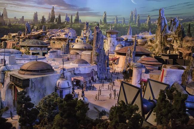 Fans de Star Wars y visitantes pueden ver este impresionante modelo en D23 Expo 2017