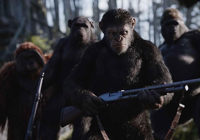 """""""War for the Planet of the Apes"""" lidera los estrenos en EEUU"""