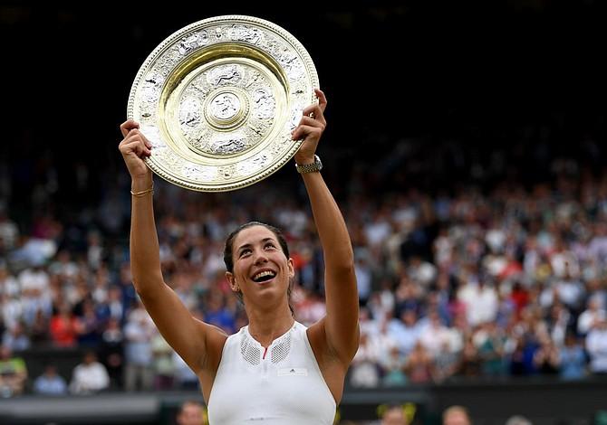 Muguruza venció a Venus Williams y hace historia en Wimbledon