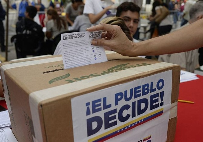 Venezuela: Participación en referendo contra Constituyente supera lo esperado