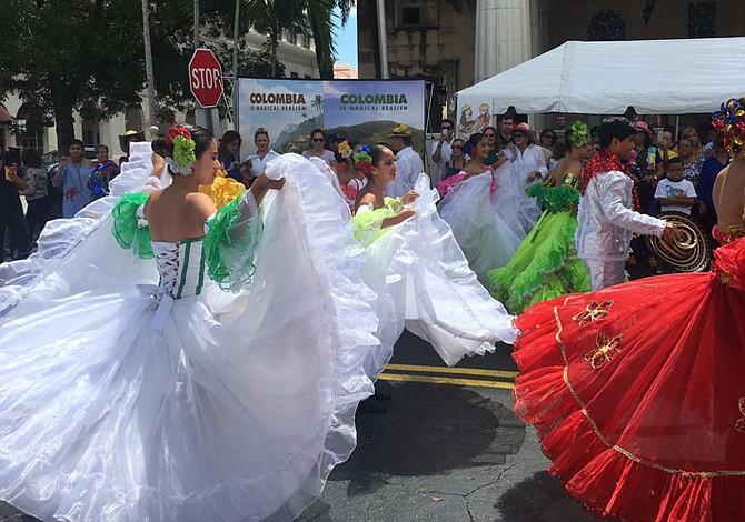 Colombianos en Miami celebran fiesta de independencia