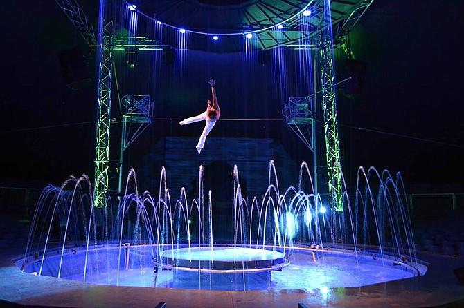 Un espectáculo al mejor estilo circense europeo