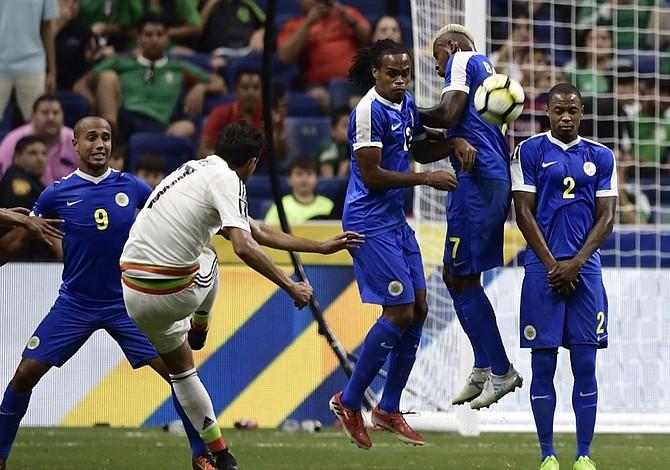 México, Jamaica y El Salvador en los cuartos de final