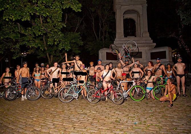 ESTE FIN DE SEMANA: Desfile de ciclistas desnudos comenzará en Jamaica Plain