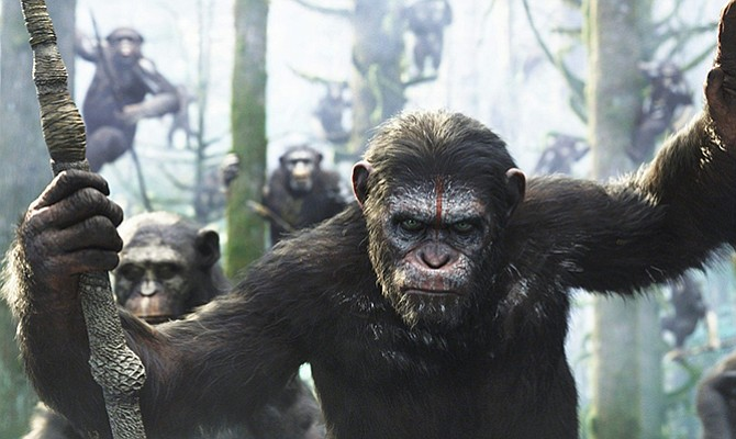"""War for the Planet of the Apes"" se hace con el número uno de la taquilla"