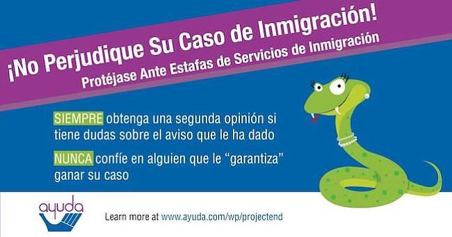 AYUDA lanza campaña de memes contra fraudes migratorios
