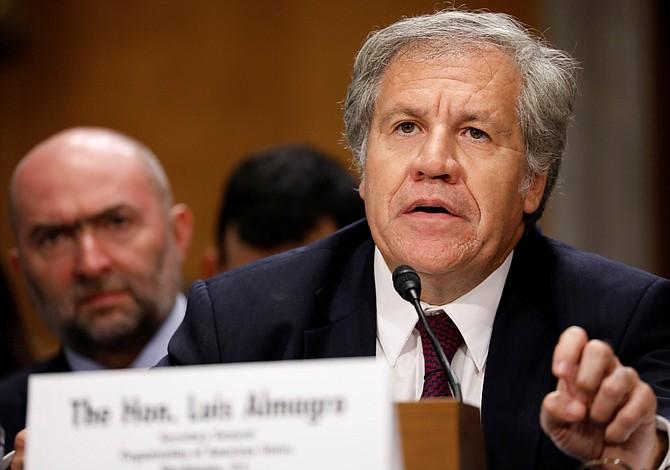 """Almagro denuncia ante Senado de EEUU """"colapso de la democracia"""" en Venezuela"""