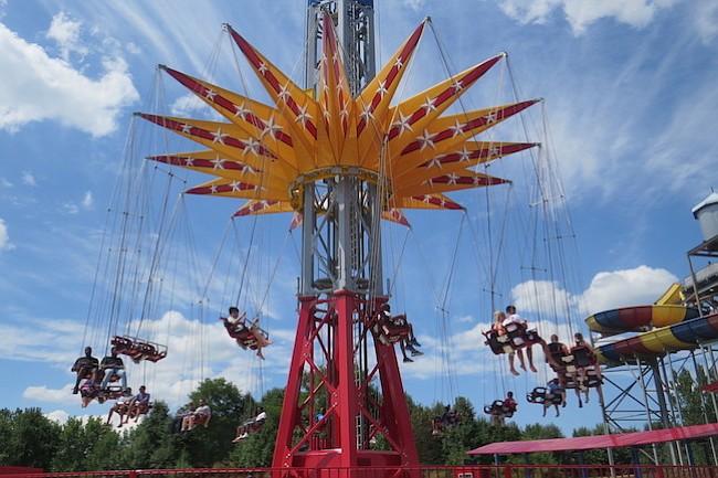 La Mujer Maravilla en Six Flags