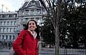 Claudette Monroy en camino a clases en la Universidad George Washington, donde es una estudiante graduada en educación internacional. Ella ha vivido la mitad de su vida, 15 años, en EEUU.