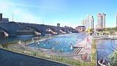 El espacio que se estudia para la establecer la instalación es en North Point Park, cerca del puente de Zakim