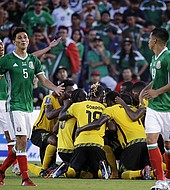 México no pudo con Jamaica en la semifinal