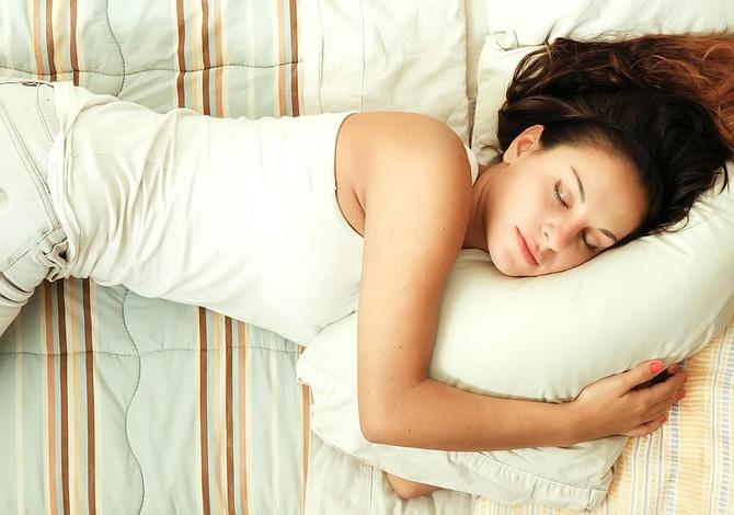 Pierda peso mientras duerme
