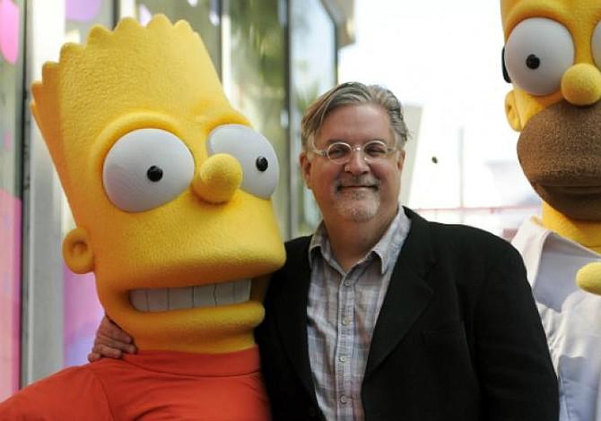"""El creador de """"The Simpsons"""" prepara una serie para Netflix"""