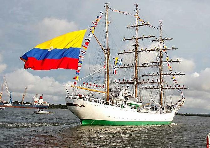 Cinco cosas que hay que saber sobre la visita del buque colombiano Gloria en Boston