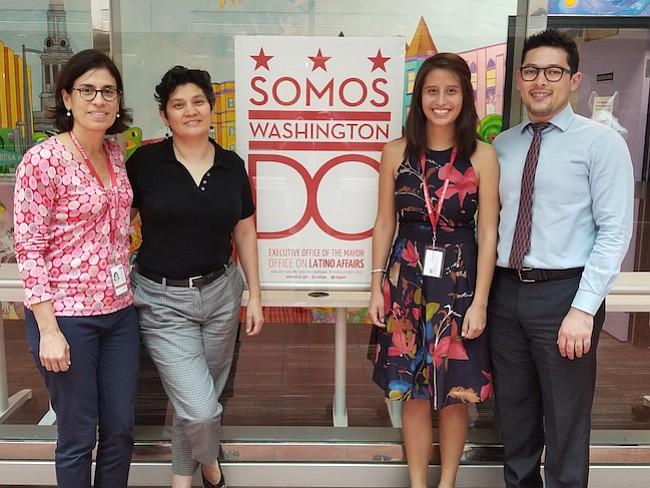 EQUIPO. Romero, Gutiérrez, Jasso y Suárez son el equipo de trabajo que desarrolla el nuevo proyecto de MOLA.
