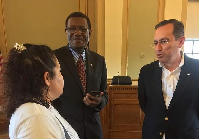 Embajador de Honduras visitó Chelsea