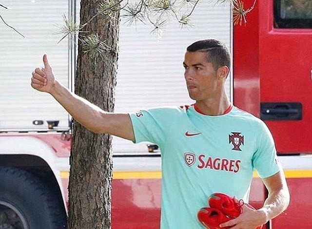 Cristiano Ronaldo compareció por presunto fraude fiscal