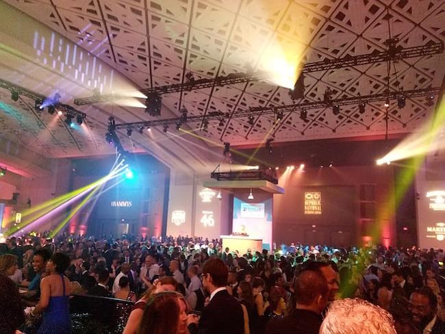 FIESTA. Con una gran fiesta se celebraron a los ganadores de las 21 categorías de los Premios RAMMY 2017.
