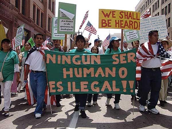 El placer de llamarlos 'ilegales'