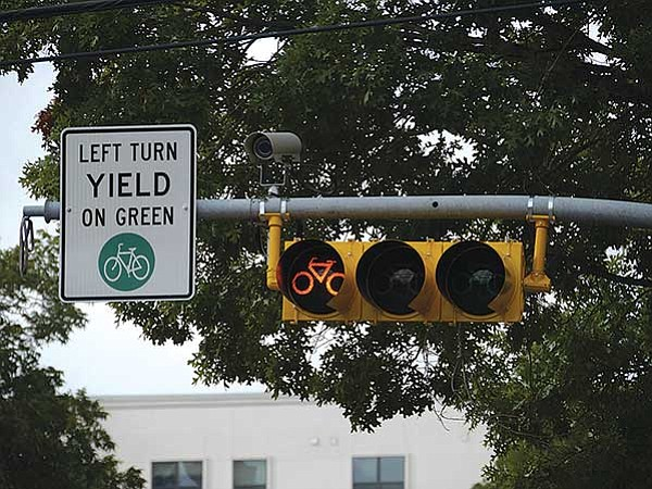 Nueva señalización para ciclistas en el Centro de Austin
